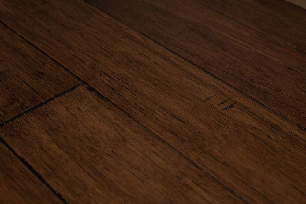BRANDY WINE STRAND WOVEN SOLID BAMBOO FLOORING UK19017